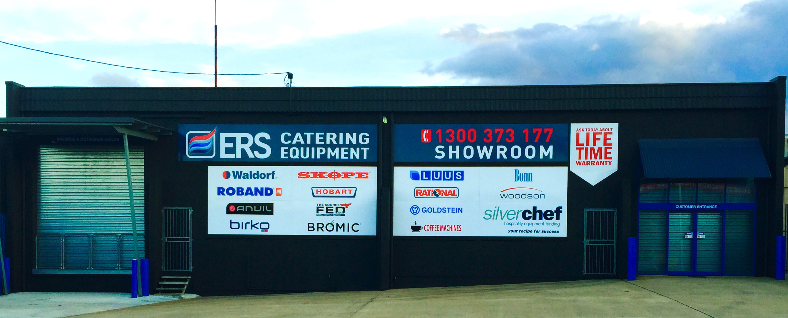 ERS Catering Equipment - About us