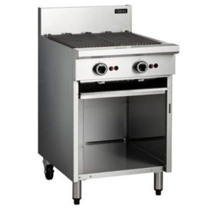Cobra Gas BBQ 600mm On Open Cabinet Base
