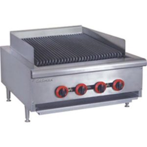 FED Gasmax Four Burner Char Grill Top