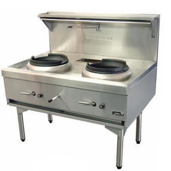 Goldstein Double Air Cooled Gas Wok