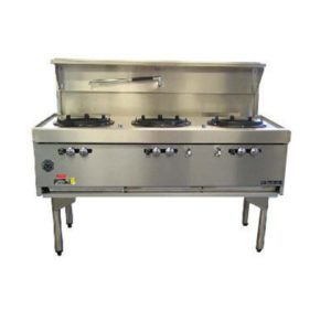 Goldstein Triple Air Cooled Gas Wok