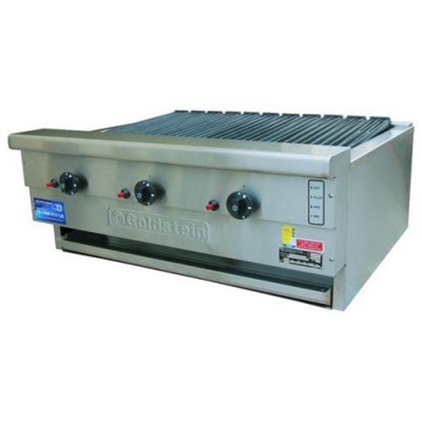 Goldstein RBA 36L Gas Char Broiler BBQ