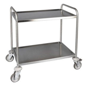 F.E.D. SST-2 Stainless Steel Trolley