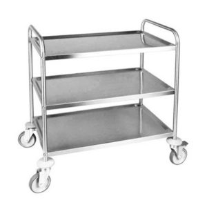 F.E.D. SST-3 Stainless Steel Trolley