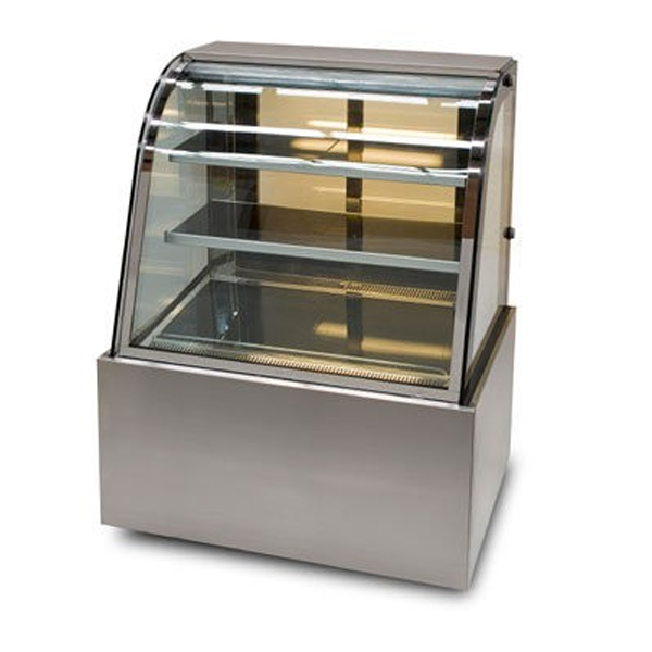 Anvil Aire DSC0730/40/50/60 Refrigerated Cake Display Curved Glass