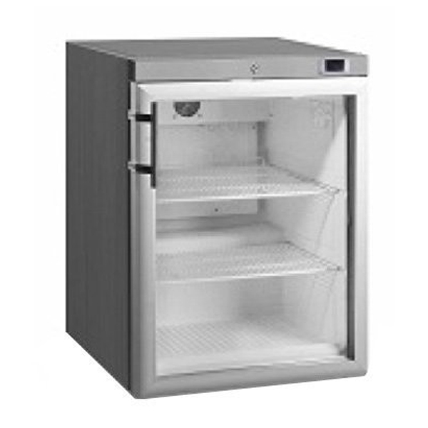Anvil Aire FBFG1201 Single Glass Door Under Bench Freezer