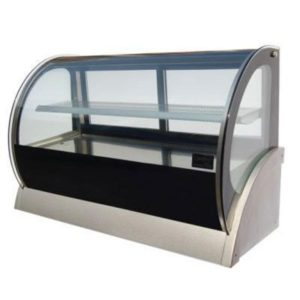 Anvil Countertop Curved Showcase 900mm DGC0530