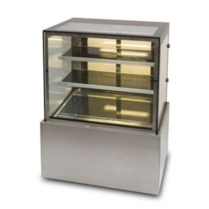 Anvil Hot Showcase Straight Glass Cake Display DHV0730/40/50