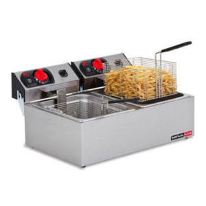 Anvil FFA0002 Double Pan Deep Fat Fryer