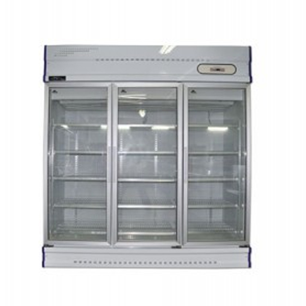 Anvil GDJ1881 Three Glass Door Upright Display Freezer – 1500Lt