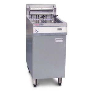 Austheat Single Pan Electric Fryers 2 Basket AF812/R
