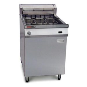 Austheat Single Pan Electric Fryers 3 Basket AF813