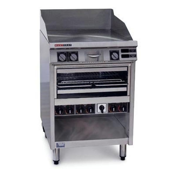 Austheat Hotplate/Grill With Toaster AHT860