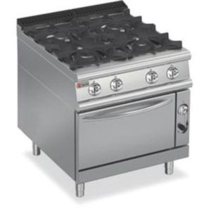 Baron Four Burner Gas Oven 7PCF/GE8005