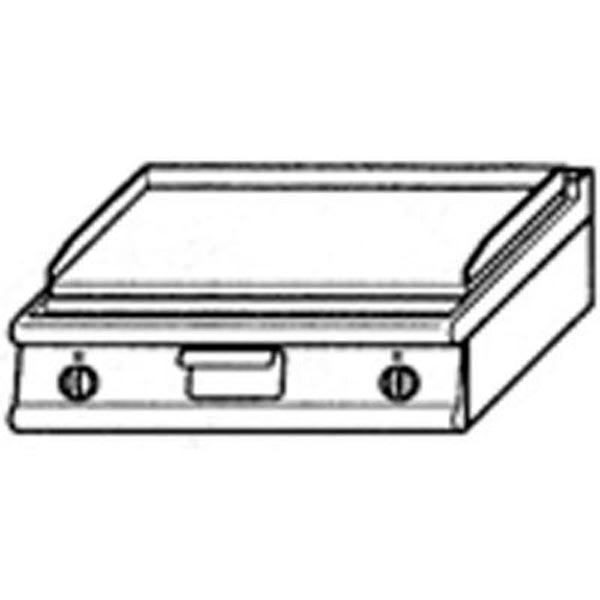 Baron Electric Bench Model Griddle Top (800mm Chromed) 9FT/E805