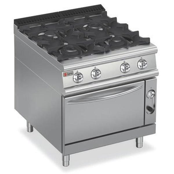 Baron Four Burner Gas Cook Top On Electric Oven 9PCF/GE8005