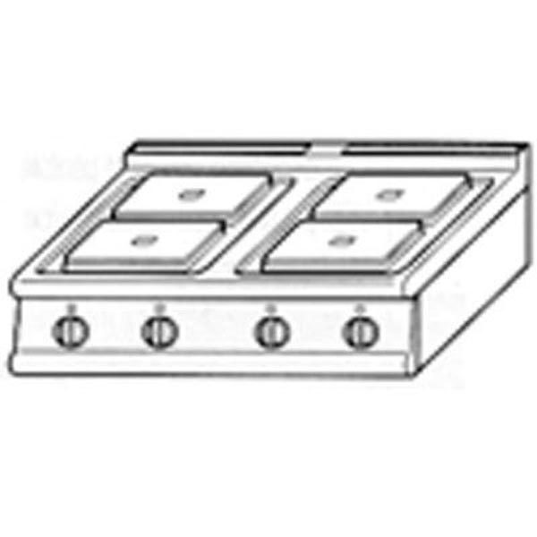 Baron Electric Cook Top 90PC/E801
