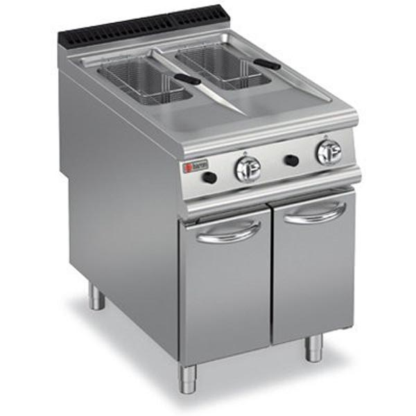 Baron Gas Split Pot Fryer 9FRI/G610