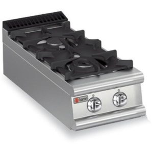 Baron Two Burner Gas Bench Cook Top 9PC/G4005