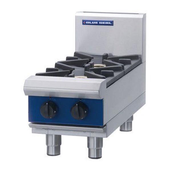 Blue Seal 300mm 2 Burner Gas Cooktop G512D-B