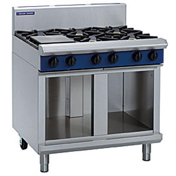 Blue Seal 900mm Gas Cooktop - Cabinet Base