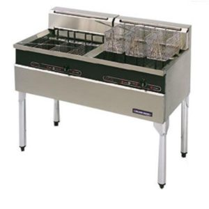 Blue Seal 1200mm Twin Pan Electric Fish Fryer E604