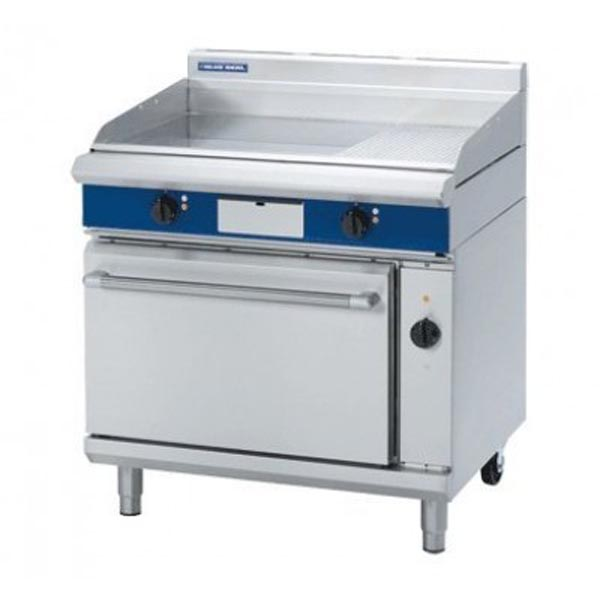Blue Seal 900mm Electric Griddle Convection Oven Range EP56