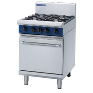 Blue Seal 600mm 4 Burner Gas Static Oven Range G504D/C/B