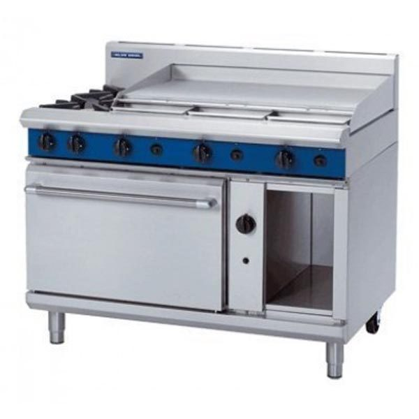 Blue Seal G508d C B A 1200mm Gas Range Static Oven