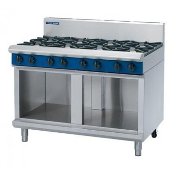 Blue Seal G518D CB 8 Burner Cooktop On Cabinet Base