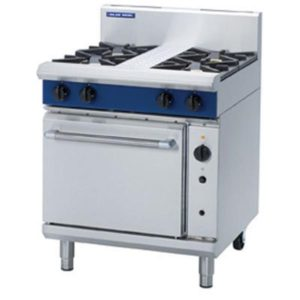 Blue Seal Heavy Duty 4 Burner Gas Convection Oven G54D/C