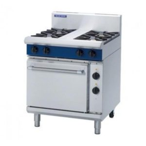 Blue Seal Gas Range Electric Static Oven 750mm GE505D/C