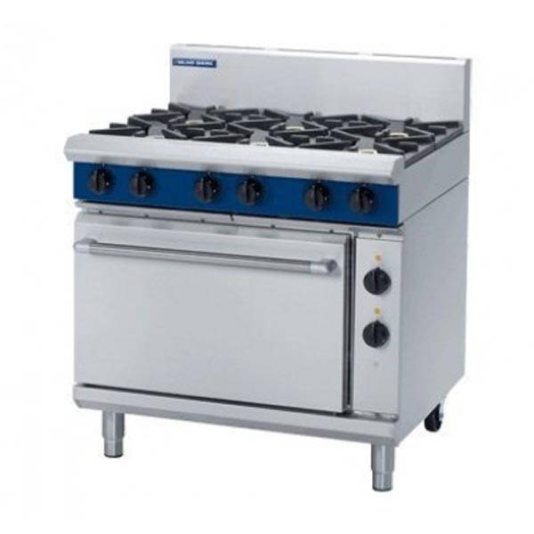 Blue Seal Gas Range Electric Static Oven 900mm GE506D/C/B/A