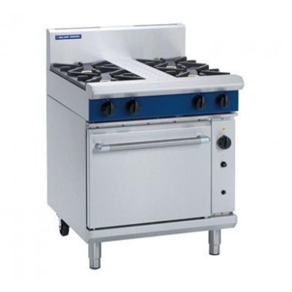 Blue Seal 750mm Gas Range Convection Oven GE54D/C