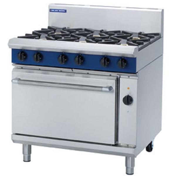 Blue Seal 900mm Gas Range - Electric Convection Oven GE56D/C/B/A