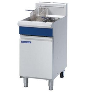 Blue Seal Vee-Ray Twin Pan Gas Fryer GT46 – Mechanical Controls