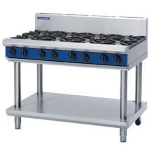 Blue Seal Heavy Duty Gas Cook Top – Leg Stand Model G518D/C/B/A-LS