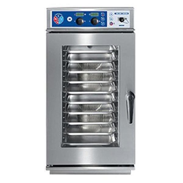 Blue Seal S Line EC1011CSDW 10 Tray Electric Compact Combi Steamer - Fully Automatic Wash System