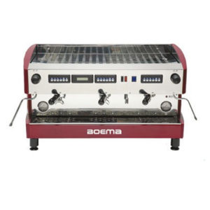 Boema D-3V20A Deluxe 3 Group Volumetric Espresso Machine