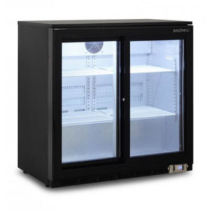 Bromic BB0200GDS Back Bar Chiller – 190 Litre (Sliding Door)
