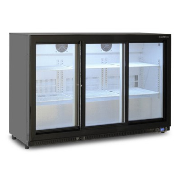 Bromic BB0330GDS Back Bar Chiller – 307 Litre (Sliding Door)