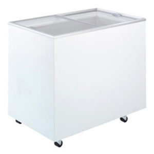 Bromic CF0300FTFG Flat Top/Flat Glass Chest Freezer – 296 Litre