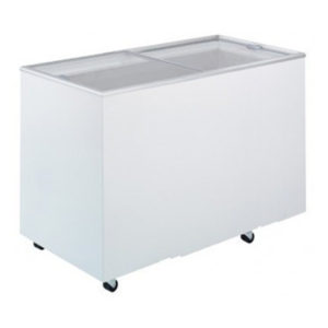 Bromic CF0400FTFG Flat Top/Flat Glass Chest Freezer – 401 Litre