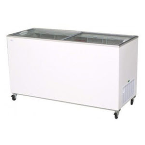 Bromic CF0500FTFG Flat Top/Flat Glass Chest Freezer – 491 Litre
