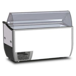 Bromic Fenice 13 Angle Top Flat Glass Gelato Display