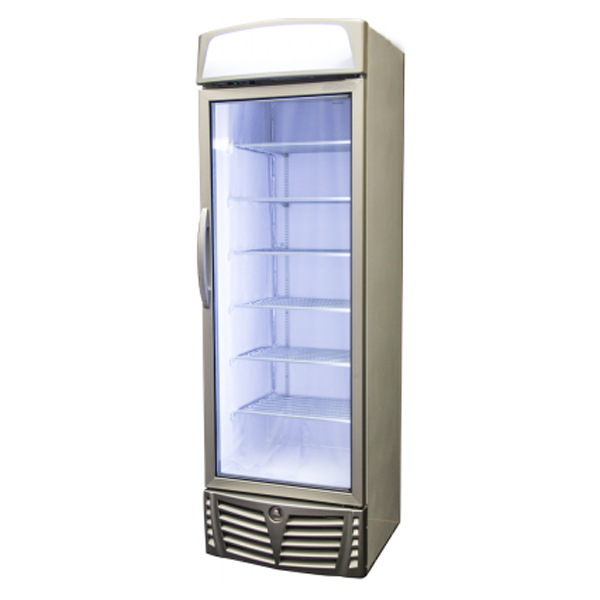 Bromic GM0440L LED Glass Door Chiller with Lightbox - 438 Litre