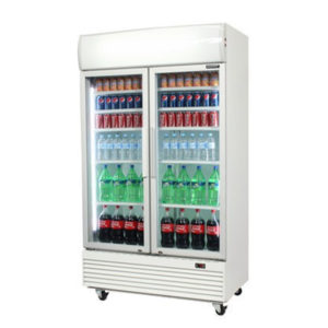 Bromic Gm1000l Led White Glass Door Chiller2