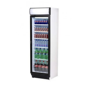 Bromic Glass Door Display Chiller With Lightbox – 372 Litre