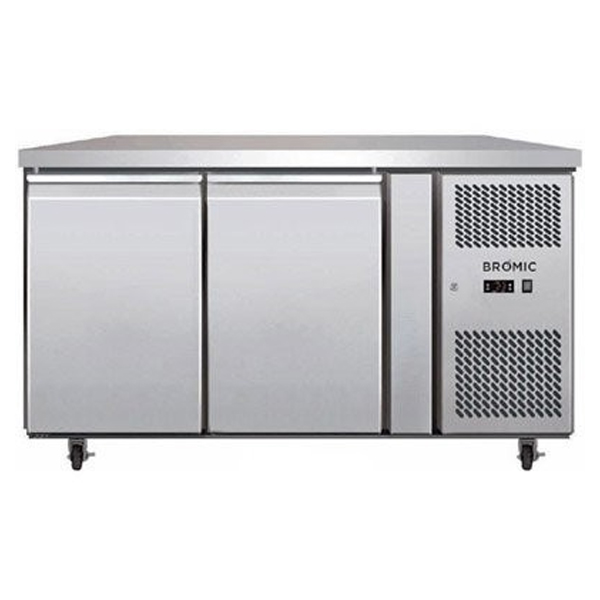 Bromic UBC1360SD Two Solid Door Under Bench Chiller – 282 Litre