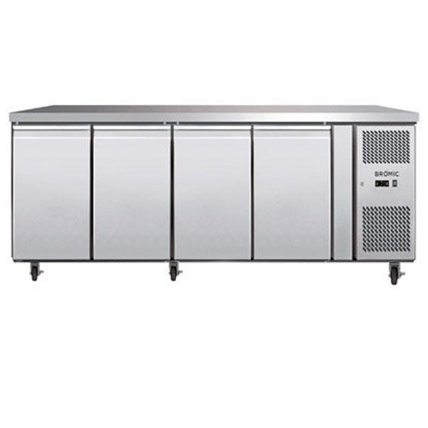 Bromic UBC2230SD Four Solid Door Under Bench Chiller – 553 Litre